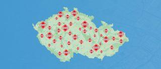 Nová mapa prodejců